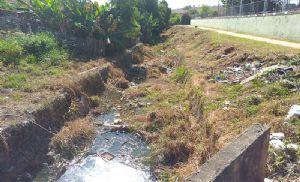 Alunos e comunidade pedem revitalização do Córrego do Araújo (Crédito: Sérgio Santos)