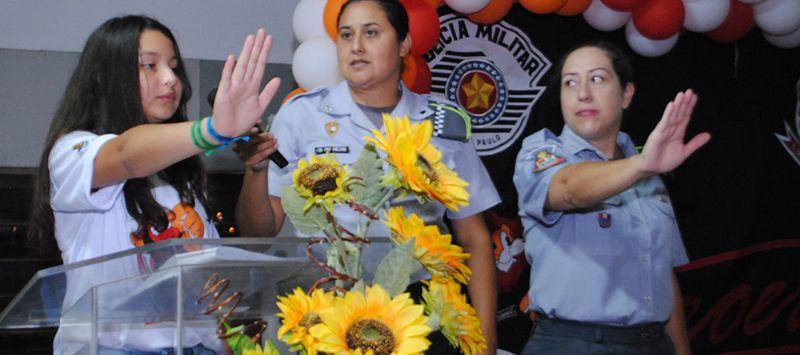 PROERD forma 375 alunos das escolas municipais de Pilar do Sul (Crédito: Sérgio Santos)