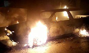 VW Parati é consumida em incêndio na Santa Cecília