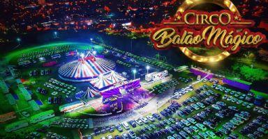 Circo Balão Mágico estreia nesta sexta-feira em Pilar do Sul