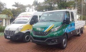 Prefeitura adquire veículos 0km para educação e obras