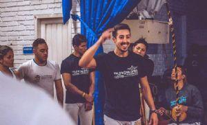 Professor Juliano Castor vai à Colômbia, Rússia e Equador ensinar capoeira (Crédito: Divulgação)