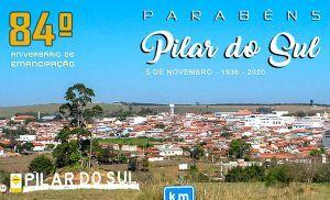 Pilar do Sul celebra 84 anos de emancipação