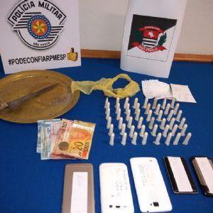 PM e Civil prendem quatro acusados de tráfico e associação na Nova Pilar
