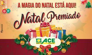 Natal Premiado da ACE vai distribuir R$ 11 mil em prêmios (Crédito: Divulgação)