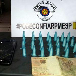 Lenhador é preso acusado de tráfico de drogas no Jardim Nova Pilar