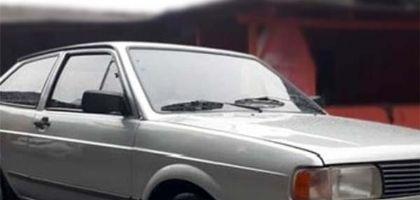 VW Gol é furtado em frente a escola Hilda, na Santa Cecília