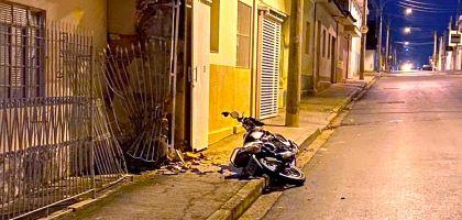 Jovem morre em acidente de motocicleta no centro