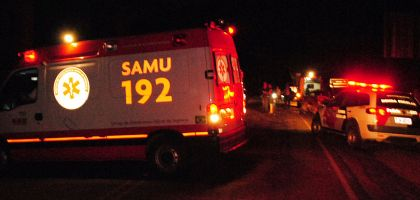 Idoso morre atropelado na rodovia SP-264, no radar da Água Doce (Crédito: Sérgio Santos)
