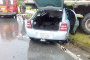 Homem morre e filho fica gravemente ferido em acidente na rodovia SP-264