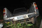 Motorista cai com carro em córrego e desaparece após ser atendido na Santa Casa