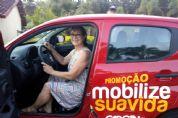 Cliente do bairro Bandeirante é a ganhadora do carro 0km no Posto Garcia