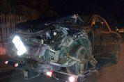 Quatro jovens são atropelados após carro sofrer pane e ser atingido por outro veículo na estrada da Reunidas