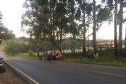 Motoristas ficam feridos em acidente na divisa de Pilar e Sarapuí