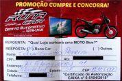 É do bairro do Turvinho a ganhadora da Moto 0km na Runa Car
