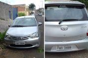 Carro roubado em Pilar do Sul é encontrado em Sorocaba