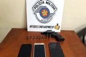 PM prende quadrilha e frustra assalto a posto de combustíveis em Pilar do Sul