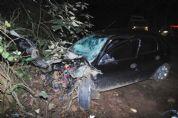 Motoristas ficam feridos em colisão frontal na SPV-093, no bairro Boa Vista