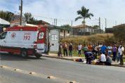 Motociclista fica gravemente ferido em acidente na Miguel Petrere