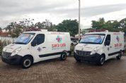Santa Casa de Pilar do Sul recebe duas novas ambulâncias