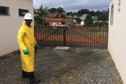 Prefeitura e Sabesp realizam desinfecção de ruas e pontos de aglomeração