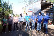 Supermercado Rugine doa 200 cestas básicas para a Assistência Social