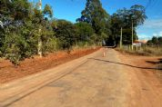 Prefeitura inicia recapeamento da estrada vicinal do bairro do Pombal