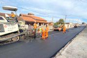 Prefeitura recapeia ruas Major Euzébio e Diógenes Ribeiro no Santa Helena