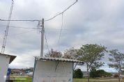 Bandidos derrubam até paredes para furtar fios no 'Chico Mineiro'