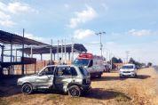 Quatro feridos em acidente na vicinal SPV-093