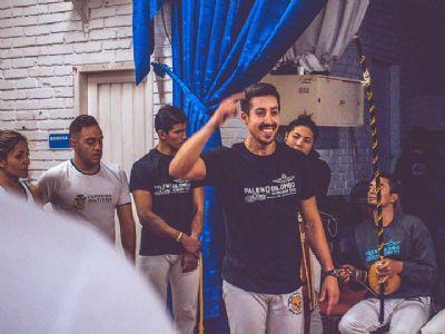 Contramestre pilarense vai à Colômbia, Rússia e Equador ensinar capoeira