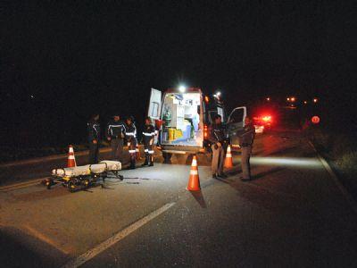 Pedestre morre atropelado na rodovia SP-264