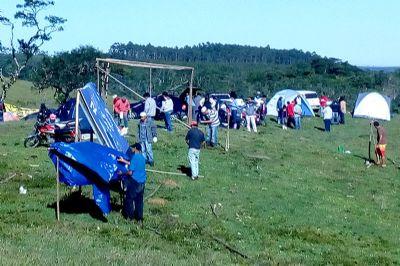 Integrantes do Movimento Social do Campo ocupam fazenda na Ponte Alta