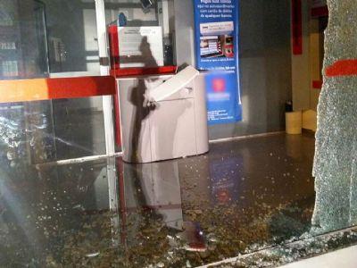 Dispositivo de fumaça frustra ataque de bandidos à banco em Tapiraí