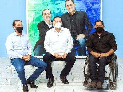PSDB e MDB oficializam coligação com Zé Francisco candidato a prefeito e Paulinho a vice