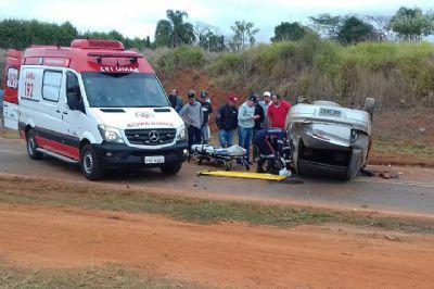 Empresário de Tapiraí fica gravemente ferido em acidente em Pilar do Sul