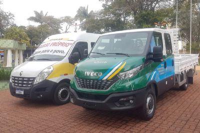 Prefeitura de Pilar do Sul adquire veículos 0km para educação e obras