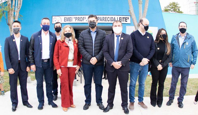 Vice-governador Rodrigo Garcia inaugura Creche Escola em Pilar do Sul