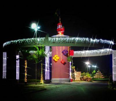 Decoração Natalina será inaugurada neste domingo em Pilar do Sul