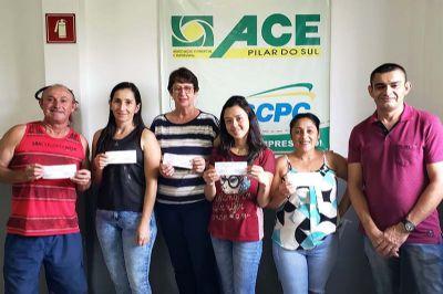 ACE entrega prêmios aos sorteados na Promoção de Natal
