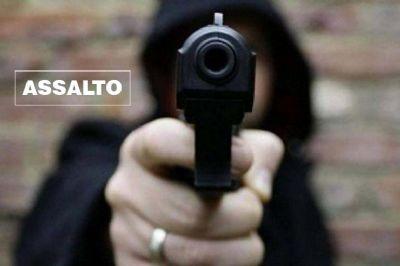 Ladrões encapuzados e armados assaltam comerciante na Água Doce