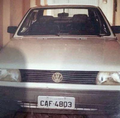 Veículo VW Gol é furtado durante a missa no Centro
