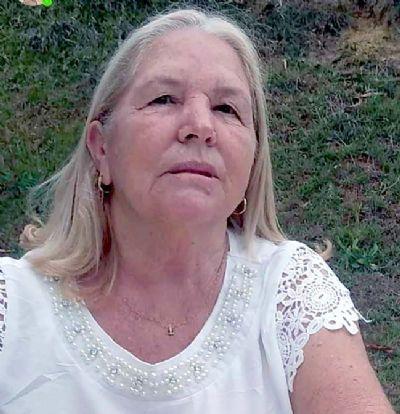 Faleceu Aparecida Pereira Vieira (Cidinha)