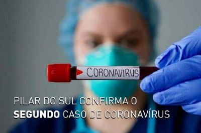 Pilar do Sul tem mais um caso confirmado e um óbito suspeito de Covid-19