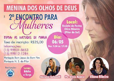 Pastoral Familiar promove segundo Encontro para Mulheres