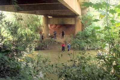 Suposta morte de ladrão, mobiliza PM e Bombeiros em busca de corpo em rio