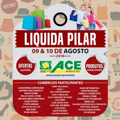 Preços atrativos atraem consumidor para a Liquida Pilar