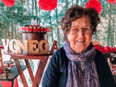 Faleceu Noêmia de Góes Vieira (D. Nêga)