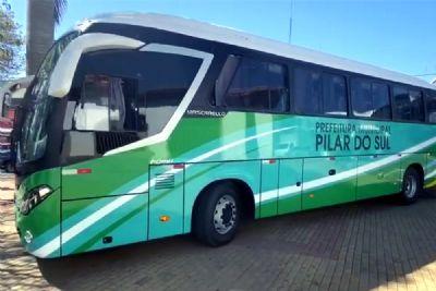 Pilar do Sul adquire dois ônibus 0km para a Saúde