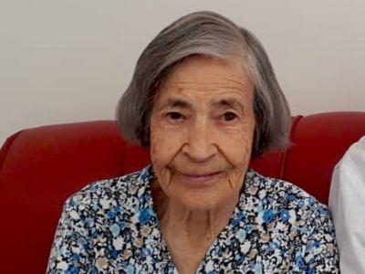 Faleceu Pedrina Paulina de Almeida